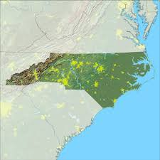 County Map Of Nc Clean Air Act Permitting In North Carolina Permitting Under The