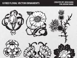 vector graphic flower ornaments pattern free vectors ui