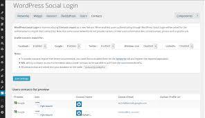 Social Tables Login Userdata Wordpress Social Login