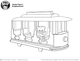 daniel tiger coloring pages bestofcoloring com