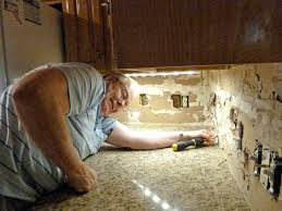 How To Install Under Cabinet Lights How To Hide Recessed Under Cabinet Lighting Wires Hide Wires Under