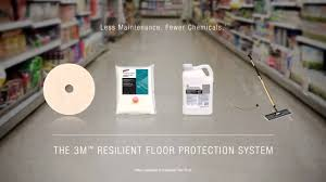 3m scotchgard resilient floor protector protect for the