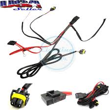 lexus v8 wiring harness 880 h8 h11 relay wiring harness kit for fog light hid conversion