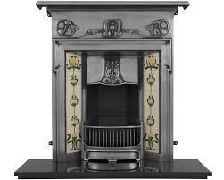 morris cast iron combination fireplaces carron