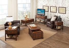 Rustic Leather Living Room Furniture Living Room Wonderful Trunk Coffee Table Living Room Furniture