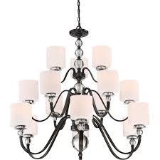 15 Light Chandelier Ceiling Lights Chandeliers Sears