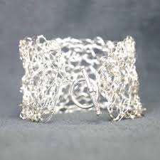 silver bracelet wire images Silver bridal cuff bohemian bridal sterling silver option jpg