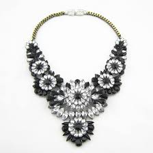 big necklace images Buy women crystal flower necklaces pendants jpg