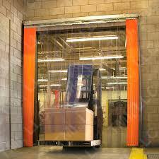 rideau chambre froide porte souple à ères pvc pour chambre froide industrielle