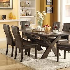 corner nook dining set furniture of america friedrich modern 7