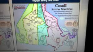Canada Time Zone Map Time Zone Conversion With Saskatchewan Summer Time Zone Youtube