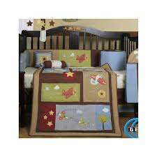 Vintage Aviator Crib Bedding Modern Blue Nuance Of The Baby Crib Airplane Bedding That Can Be