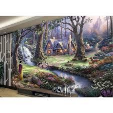 3d mural buy custom 3d mural wallpaper fairy landscape oil painting