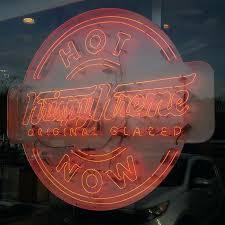 krispy kreme light hours krispy kreme light doughnut sign re also the home of favorite