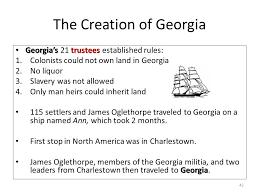Georgia traveled definition