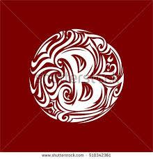 tribal tattoo circle shape stock vector 262151237 shutterstock