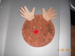 25 days of christmas crafts day 6 paper plate rudolph super