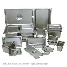 6 steam table pans buy update sph 506 anti jam 23 ga steam table pan half size 6 d