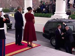 trump u0027s inauguration cake almost exact replica of obama u0027s 2013