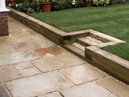 fascinating railway sleepers retaining wall 79 for your new trends