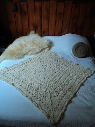 plaids en laine plaid style scandinave crochet laine yarn wool knitting