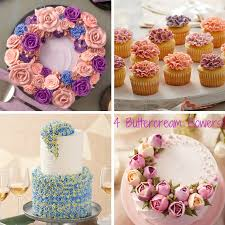 Wilton Easter Cupcake Decorating Kit by Buttercream Flower Wreath Cakes U0026 Other Floral Techniques