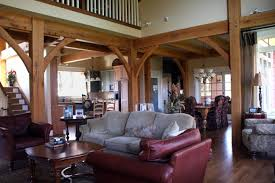 timber frame home interiors timber frame house is leed platinum and nahb gold