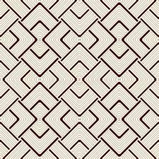 outline seamless pattern with geometric ornament modern style