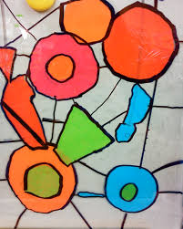 candice ashment art diy stained glass with tissue paper 2nd
