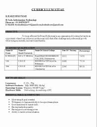 resume sles for b tech freshers pdf to word 50 fresh gallery of resume format pdf for engineering freshers