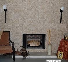 Travertine Fireplace Tile by Split Face Stone Textured Tiles Backsplash Fireplace