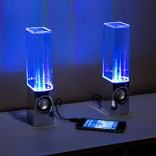 cool light up things light fountain speakers great things to buy