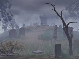 spookyt halloween background creepy graveyard wallpaper wallpapersafari