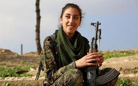 Blind Christian Female Singer Christian Female Fighters Take On The Islamic State In Syria The