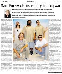 Carreaux Ciment Emery Marc U0027s Us Prosecutor Pushes For Legalization Exclusive Newspaper