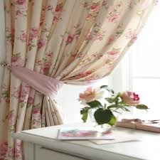 shabby chic curtains with cute pink shab country chic rose ruffled