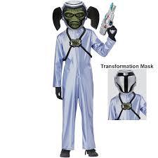 alien halloween costume kids first contact alien costume