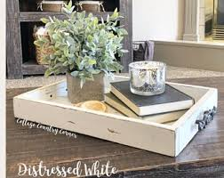 Decorative Trays For Coffee Table Coffee Table Tray Etsy