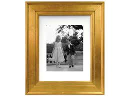 gold portrait 8x10 picture frame matted for 5x7