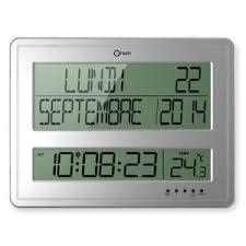 afficher l heure sur le bureau horloge murale avec date achat vente horloge murale avec date