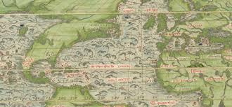North America Map 1700 by Scott Wolter Answers Oak Island 1179 Map