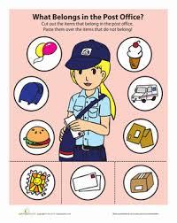 post office game worksheet education com