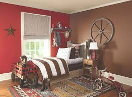 living red paint room ideas interior design excellent under home