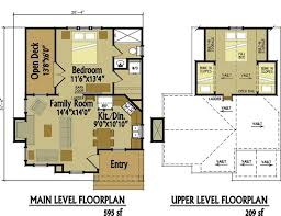 cabin floor plans free micro cottage plans michigan home design