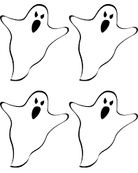 free printable ghost banner liz on call