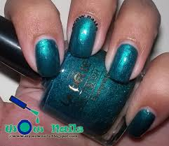 wow nails la belle nail polish evergreen swatches and review