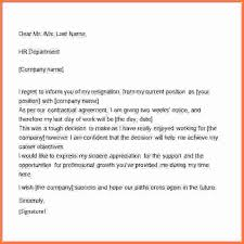 two weeks notice sample letter resignation letter example two