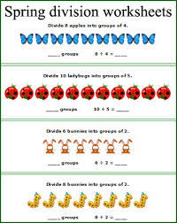 brilliant ideas of introducing division worksheets for cover