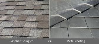 Metal Roof Tiles Metal Vs Shingle Roofing Comparing The Cost Hometown Roofing