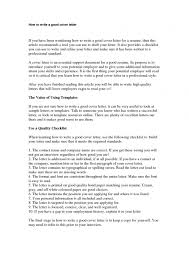 great cover letter great cover letter cv writing an effective 53705410 inside how to